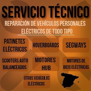 Servicio Técnico Especializado Patinetes Eléctricos