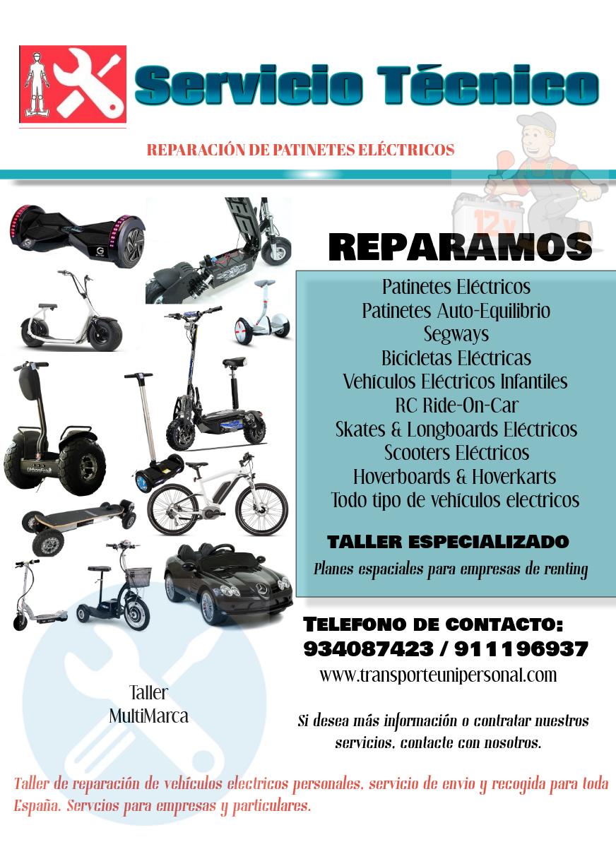 D nde puedo reparar mi patinete el ctrico minimotos y for Donde reparar mi roomba